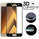 SmartLike Samsung Galaxy A5 (2017) Full Covered Edges Tempered Glass Screen Protector BLACK