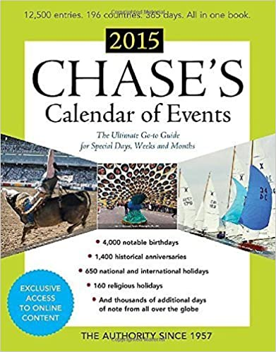 Book Chase's Calendar of Events 2015 by Editors of Chase's Calendar of Events (2014-10-14)