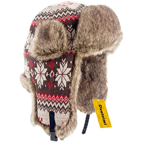 317c13199f0 Duolaimi Fashion Winter Hats For Adult (L Head Circumference 23.3
