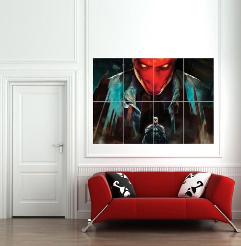 BATMAN UNDER THE RED HOOD JASON TODD GIANT WALL ART PRINT POSTER B719