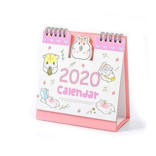 Calendario Calendarios de Escritorio Calendarios d 2020 Escritorio ...