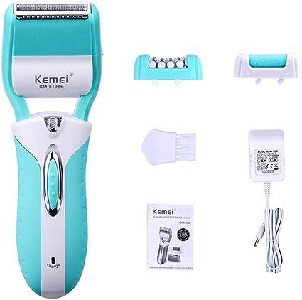 DOSNVG 3 en 1 depilador Recargable afeitadora depiladora ...