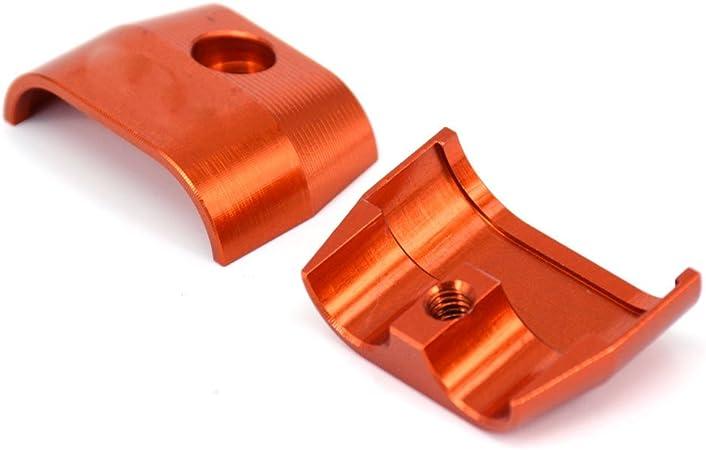 Fast Pro Pince /à Pro CNC billet Aluminium c/âble dacc/él/ération rapide Tuyau Guard pour KTM EXC SX XC XCW SMR Xcfw Xcrw mod/èles 4/temps Orange