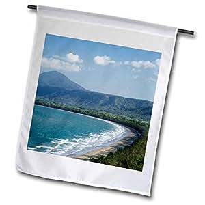 3dRose fl_70087_1 Four Mile Beach, Port Douglas, Queensland, Australia-AU01 DWA2991-David Wall Garden Flag, 12 by 18-Inch