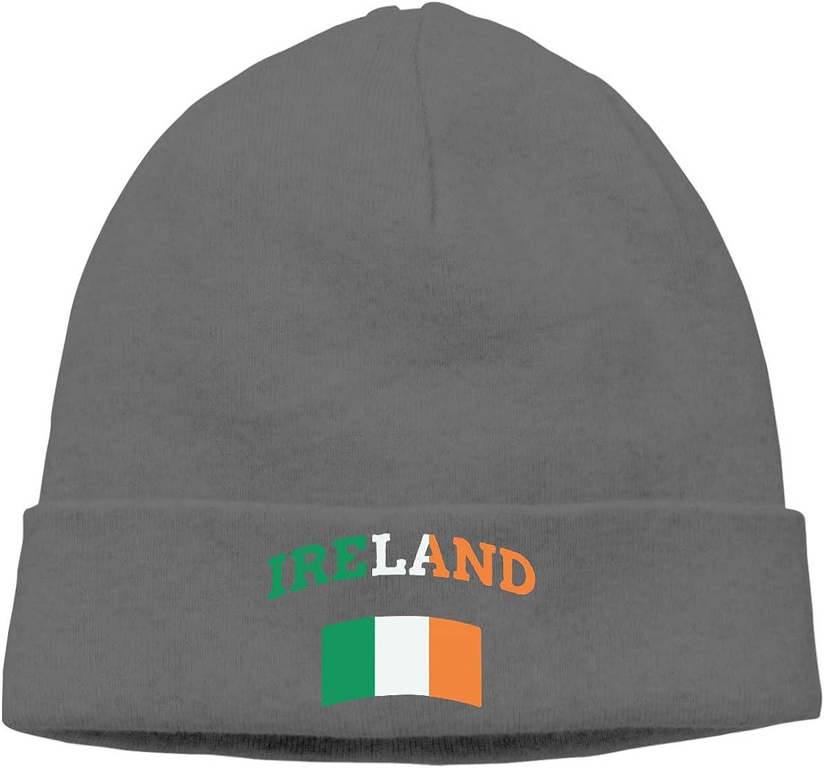 Unisex Vintage Irish Ireland Soft Knit Caps