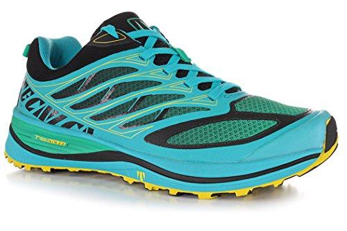 Tecnica Men Rush E-Lite 2.0, Azure Green, Shoes Trail Running, UK 11