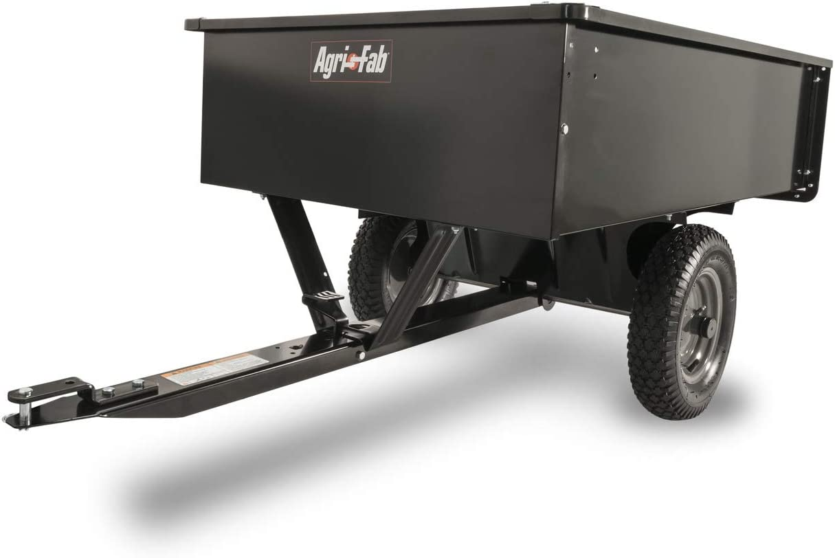 Best dump cart for lawn tractor: Agri-Fab 45-0101