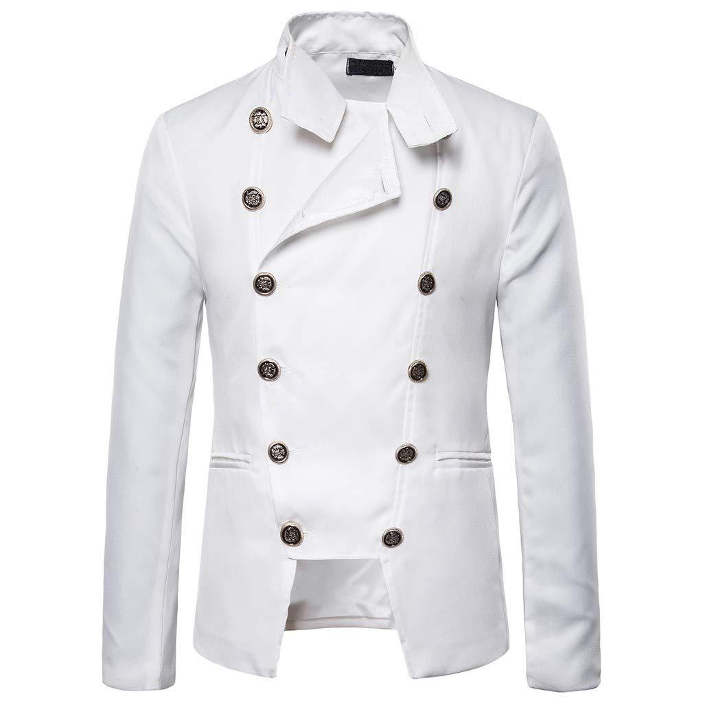 Mens Luxury African Print Long Sleeve Button Dashiki Stand Shirt Coat Jacket Top