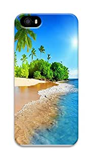 iPhone 5 5S Case Tropical island 3D Custom iPhone 5 5S Case Cover