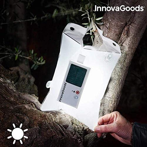 InnovaGoods IG116141 Cojín Hinchable Solar con Led, Transparente ...