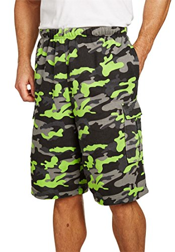 Kingsize Mens Shrink Less Cargo Shorts