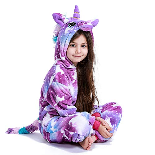 N/N Eenhoorn onesie pyjama Kerstmis Halloween cosplay kostuum voor jongens meisjes cadeau