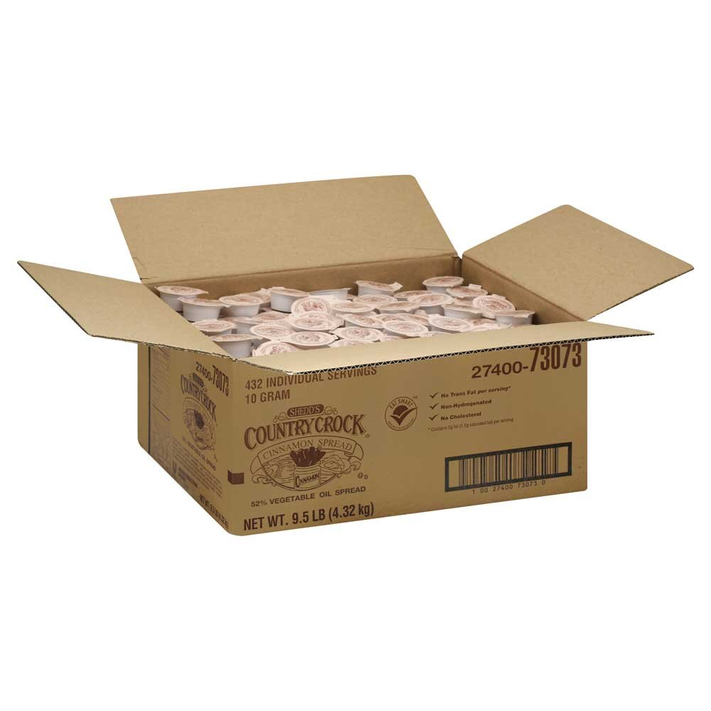 Country Crock Cinnamon Spread Margarine, 10 Gram - 432 per case.