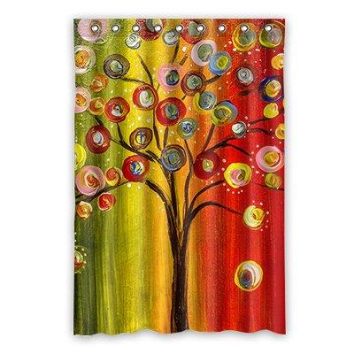 Dalliy Familia de árbol disfraz cortina de la ducha Shower Curtain ...