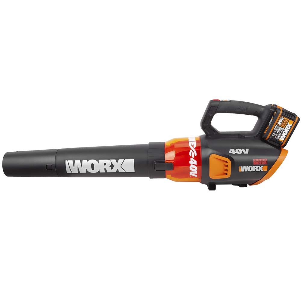 WORX WG584E Soplador de hojas 40V (220V)145km/h, 40 V ...