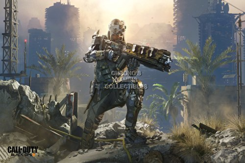 Call of Duty CGC Huge Poster Glossy Finish Black Ops 3 - Specialist Prophet PS3 PS4 Xbox 360 ONE - COD036 (24