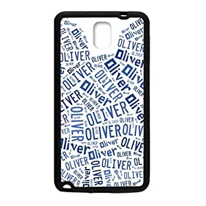 Happy Oliver Lovely blue bear head Cell Phone Case for Samsung Galaxy Note3