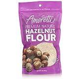Amoretti Premium Natural Hazelnut Flour, 1 Pound