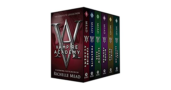 Amazon.com: Vampire Academy Box Set 1-6 (9781595147585 ...