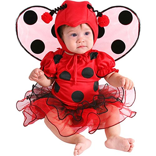 Unique Infant Baby Lady Bug Costume (18 Months) -
