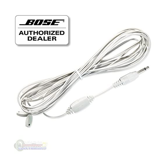 Bose Wave FM Antenna 1 Improves FM radio performance in areas where reception is difficult 1/8 inch (3 mm) plug connects to input on back of system Antenna measures 9 foot long, plus 2 foot Y-extensions