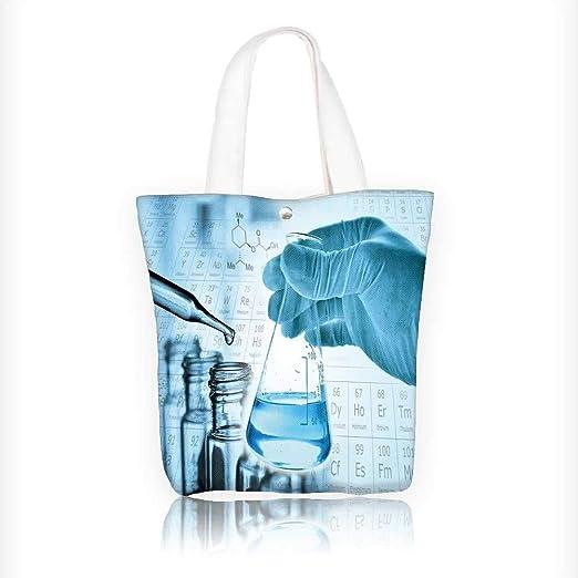 Bolsa de lona con diseño de flamo, hecha en forma de D ...