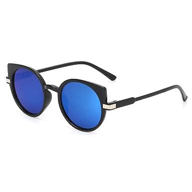 b5825c93b998 Manyo Cat Eye Sunglasses Ocean Lens Luxury Fashion Brand Designer UV400  Unisex Eyewear (Blue)  Amazon.co.uk  Clothing