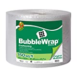Duck Brand Bubble Wrap Original Cushioning, 12 in. x 150 ft., Single Roll (284054)