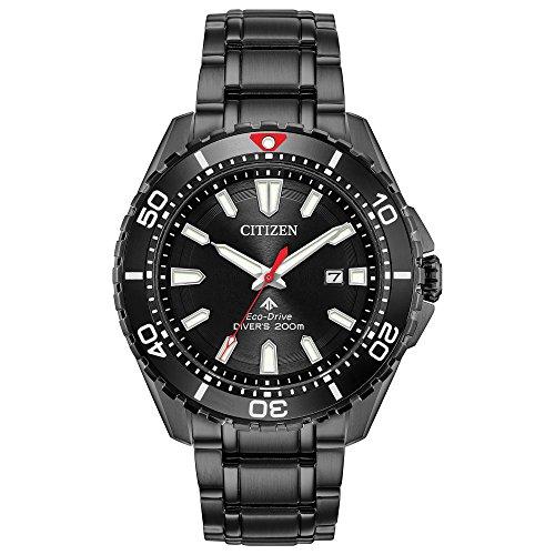 Citizen Watches Men's BN0195-54E Eco-Drive Black One Size