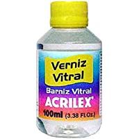 BARNIZ VITRAL ACRILEX INCOLORO