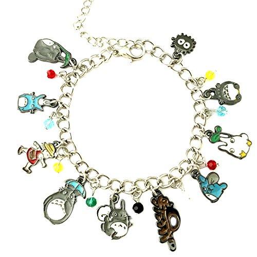 Superheroes Brand My Neighbor Totoro Anime Manga Cartoon Charm Bracelet w/Gift Box Movies Premium Quality Cosplay Jewelry Series by
