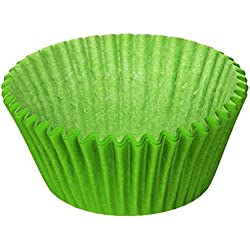 Oasis Supply VK577-100 100 Count Baking Cup, Lime Green