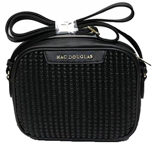 Mac Douglas, Borsa a tracolla donna nero nero