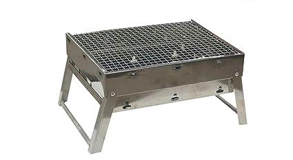 Barbacoa, barbacoa de carbón portátil Camping Outdoor BBQ Utensil - 56x41x36cm