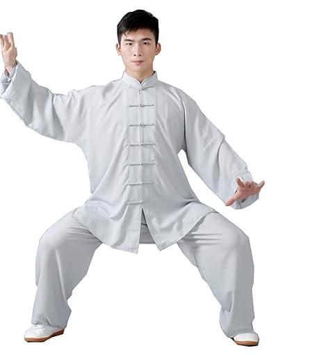 fwadu Tai Chi Uniforme Hombre Mujer Transpirable Estilo ...