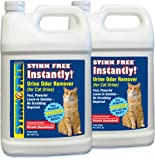 STINK FREE Instantly Urine Odor Remover for Cat Urine, 2 128-Oz (2 1-Gallon Jugs), My Pet Supplies