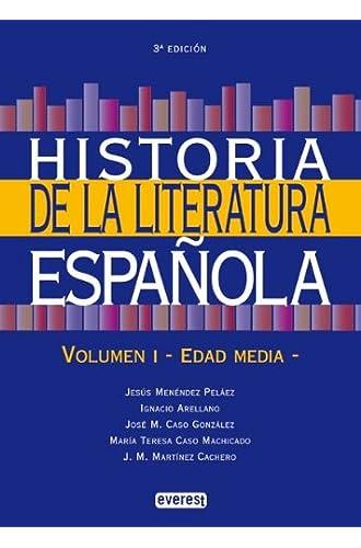 Historia De La Literatura Española. Volumen I