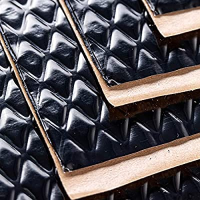 Noico Black 80 mil 18 sqft Car Sound Deadening Mat, Butyl Automotive Sound Deadener, Audio Noise Insulation and Dampening: Automotive