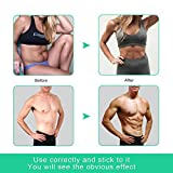 Ab Toner - SLB Abdominal Muscle Toner Muscle Training Gear Suitable for Men & Women - Extra 10 Gel Pads