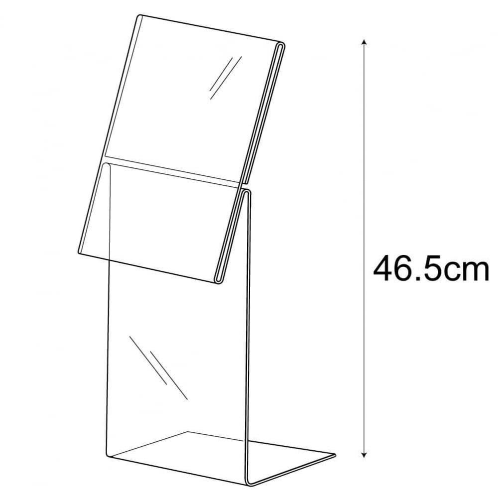 3D Displays A4 sign holder-mattress (acrylic sign holder)