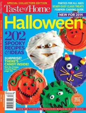 Halloween Recipes & Ideas Taste of Home Special Collector's Edition -