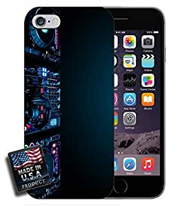 DJ Spinning Night Club Party Glowing Photography iPhone 6 Hard Case
