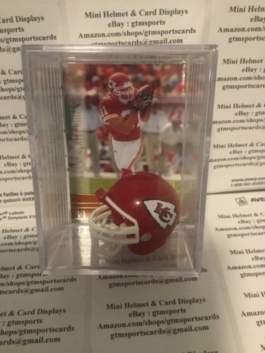 Priest Holmes Kansas City Chiefs Mini Helmet Card Display Collectible Case (Priest Holmes Kansas City Chiefs)