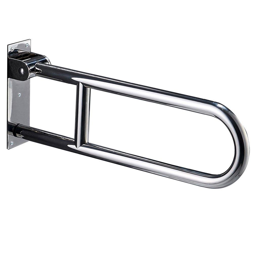 304ステンレススチール手すりアクセス可能な安全高齢者の身障者用トイレトイレボウル滑り止めUハンドル B07BGZ1RP6