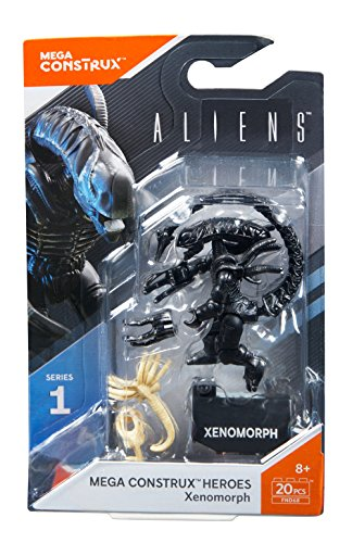Mega Construx Heroes Series 1 Aliens Xenomorph Figure ()
