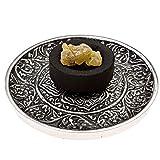 Premium Frankincense Burning Kit (with Tibetan Incense Burner or Brass Screen Burner) (Tibetan Burner)