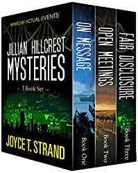 The Jillian Hillcrest Mysteries 3-Book Bundle: On Message, Open Meetings, Fair Disclosure