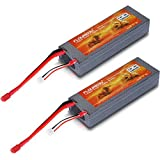 Best Rc Lipo Batteries - Floureon 2 Packs 30C 2S 7.4V 5200mAh Lipo Review