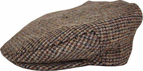 男性用 帽子 ハンティングキャップ・ハンチングキャップ 鳥打帽 Jura HTHC12 英国製・イギリス製・スコットランド製