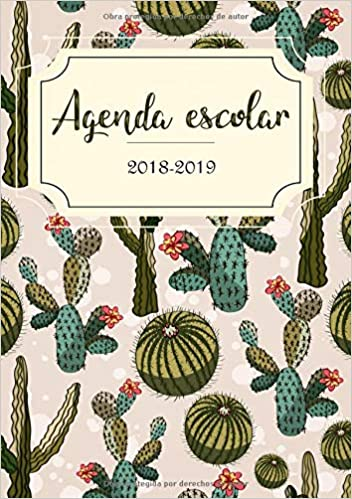 Amazon.com: Agenda Escolar 2018-2019: El calendario ...